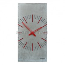 """Бетонные часы """"ZEGO gray"""""""