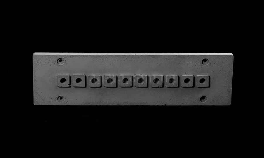 Накладка для наружной проводки (10 выходов)